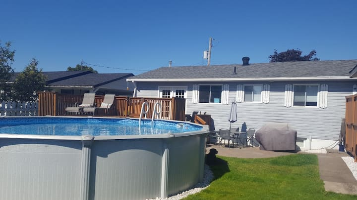 Spacious & quiet home with beautiful PATIO & POOL!