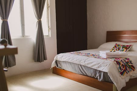Private room for couples and business travelers - Mérida