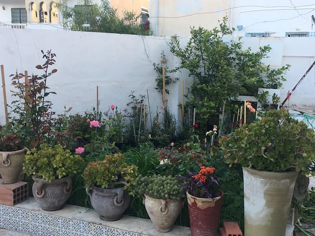 Maison familiale à hammamet, Tunisie