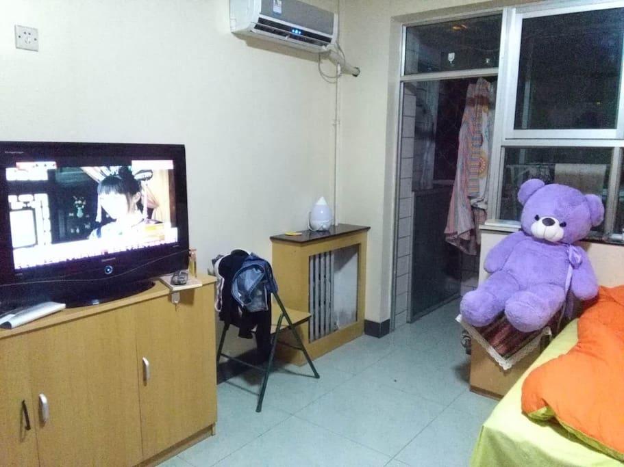 有电视可以看噢!