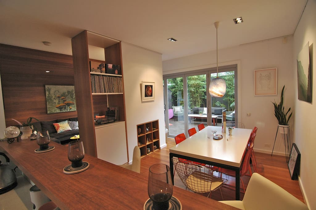 Modern 3-storey double terrace house in the heart of Surry Hills..