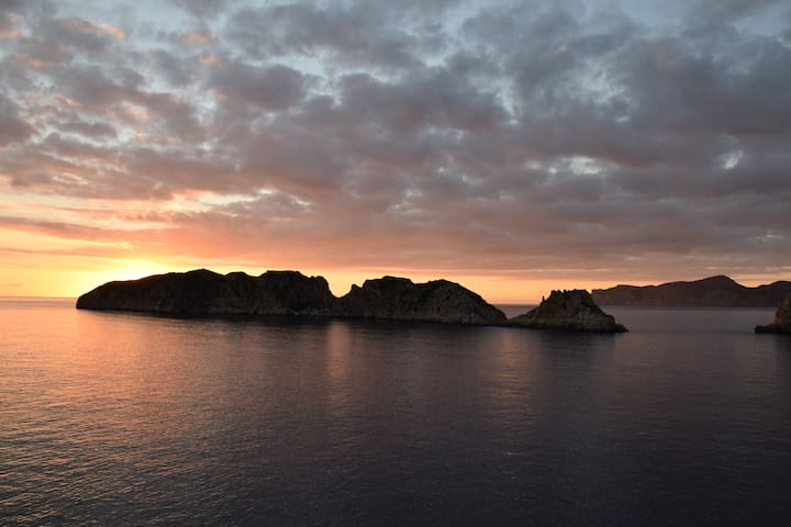 Coucher de soleil Punta Malgrats