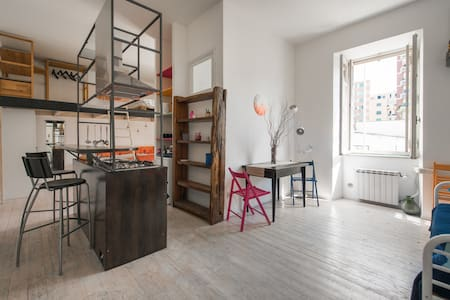 "Cozy ""Wooden House"" in central district Pigneto - Roma - Loft"