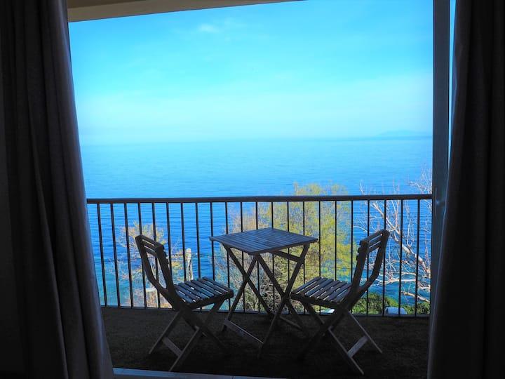 Appartement avec vue sur mer sur la route du Cap