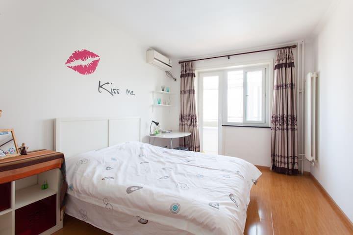 近地铁北大清华中关村商圈超值温馨舒适独立一居室 - Beijing - Huis