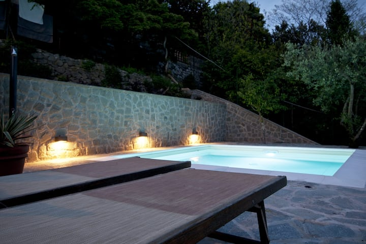 Lucca - house with pool and spetacular view