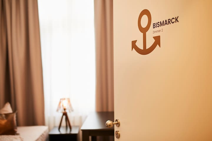 "HARBOUR Apartment ""Bismarck"" in Karlsruhe-City"