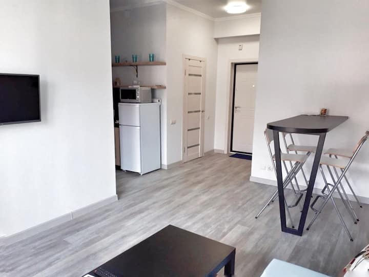 Светлая и комфортная квартира в Сукко