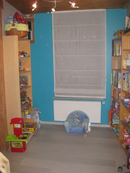 coin jeu pour enfants au rez-de-chaussée