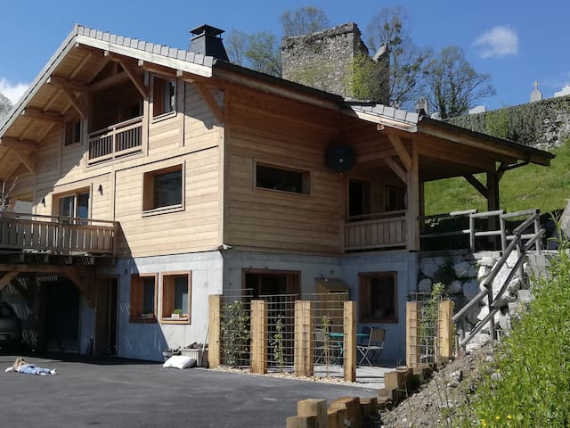 New cosy appartment in Le Biot