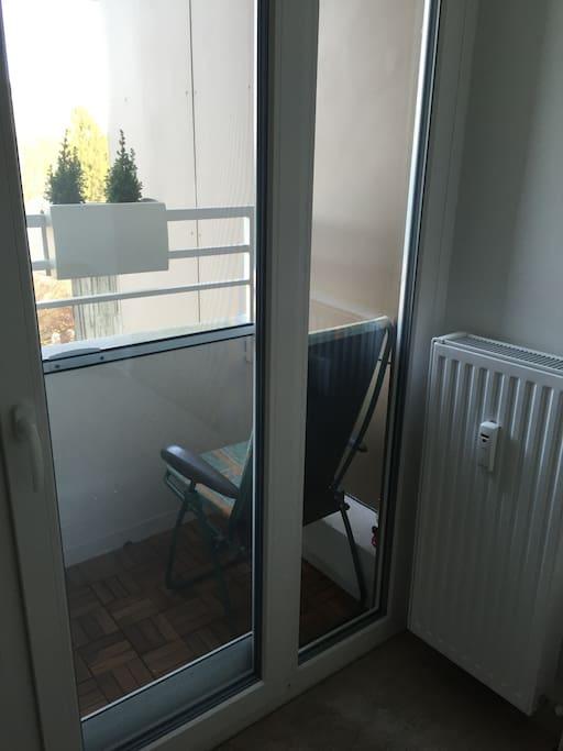 Eigener, kleiner Balkon