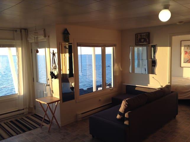 Relaxation vue sur l'eau - Saint-Simon-de-Rimouski - Chalupa