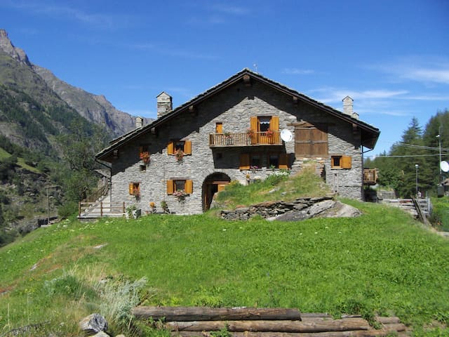 Apartment in the Gran Paradiso National Park - Créton - Huoneisto