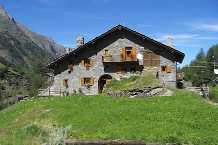 Apartment in the Gran Paradiso National Park - Créton - อพาร์ทเมนท์