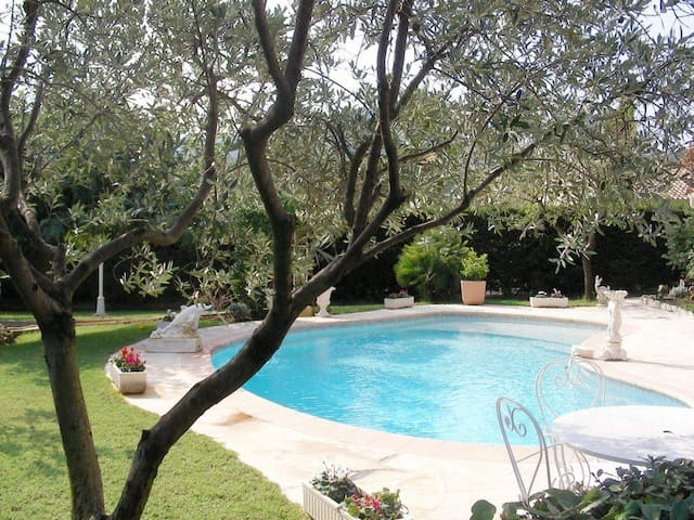 Big Villa with swimming pool and 1300m garden - Roquebrune-sur-Argens - Rumah