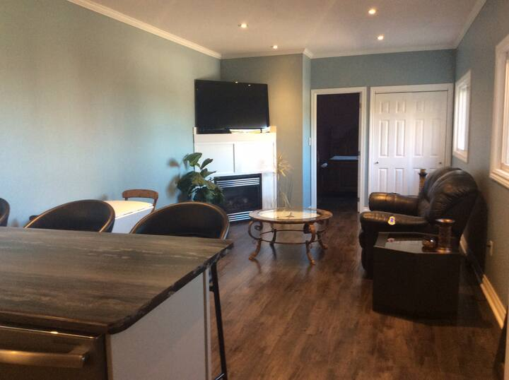 Newly refurbished 2 BR/1 BA ground level apartment