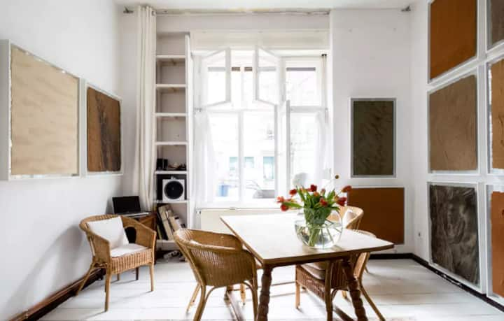 Spring in a Berlin Gallery Apartment