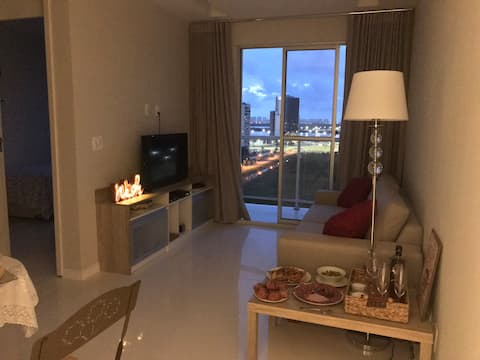 Apartment 2 bedrooms, decorated and with beautiful view!