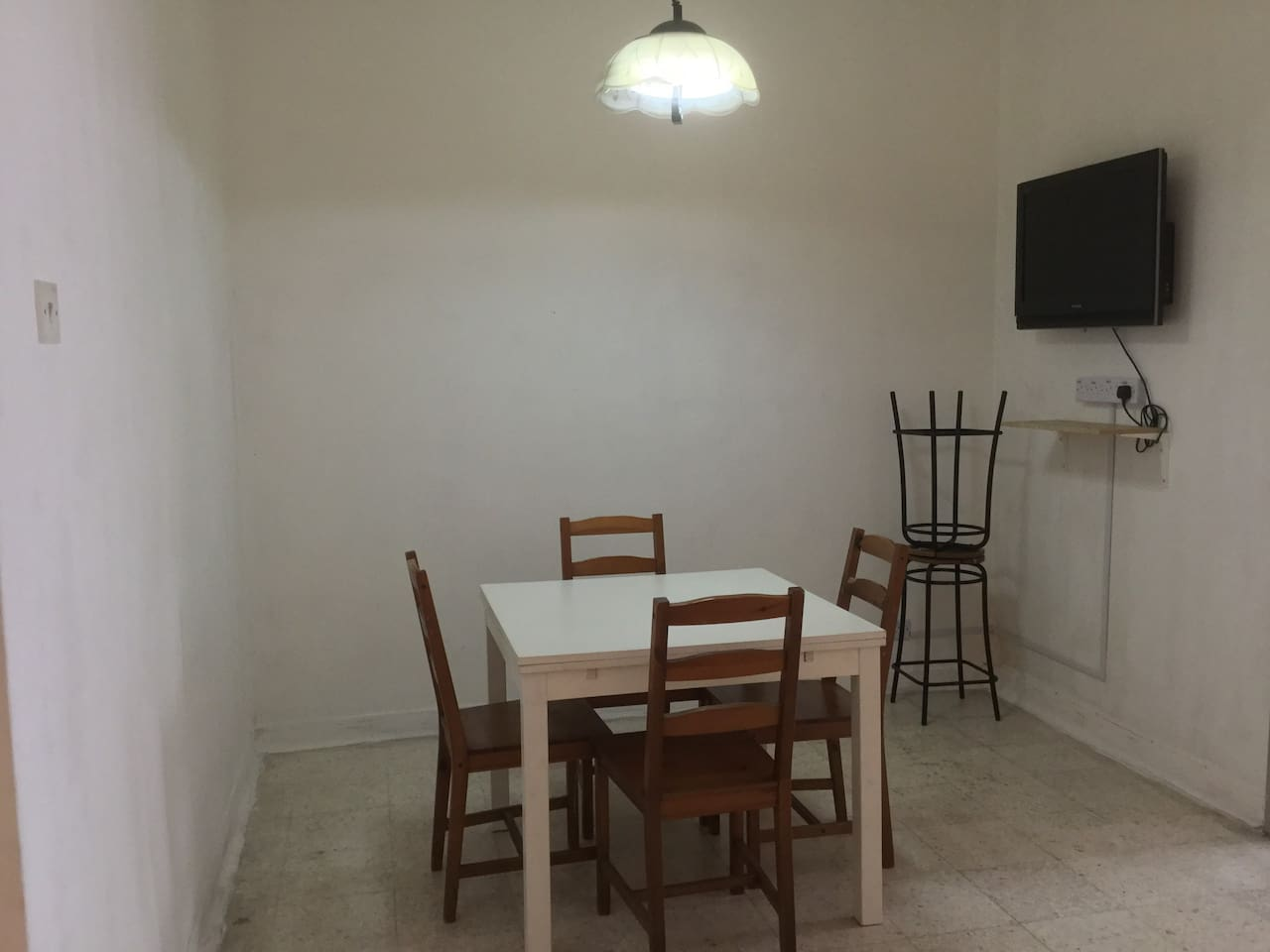 Dining & TV area
