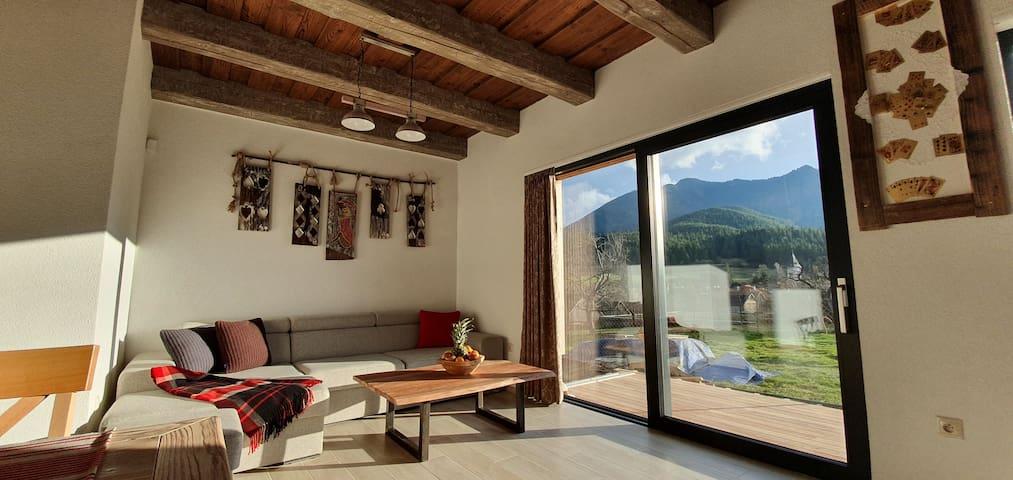 Novovybudované,drevené, mezonetové apartmány AP4