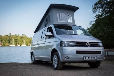 VW Camper Lake Windermere