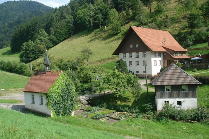 Great holiday for groups or multiple families on a beautiful Black Forest farm.