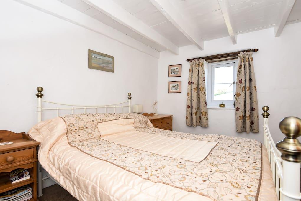 Bedroom is  comfortable and sleeps 2