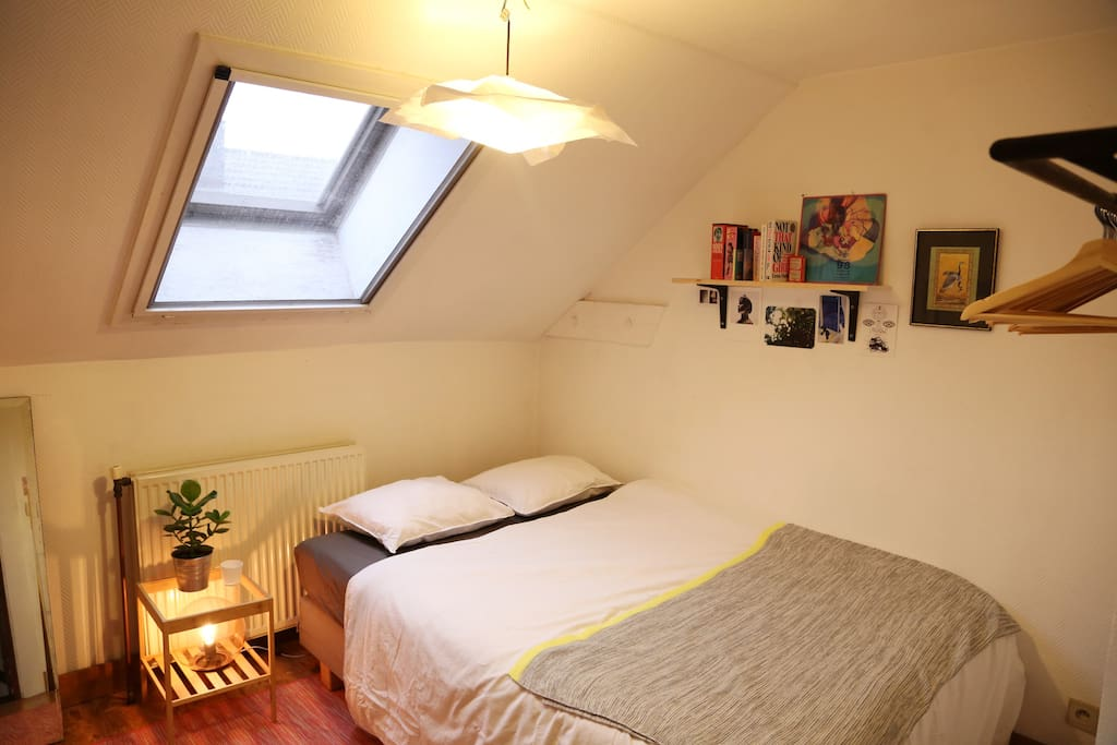 Your bedroom (on the 2nd floor)