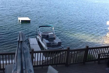 Lakefront home with hot tub and boat access option - Dowagiac