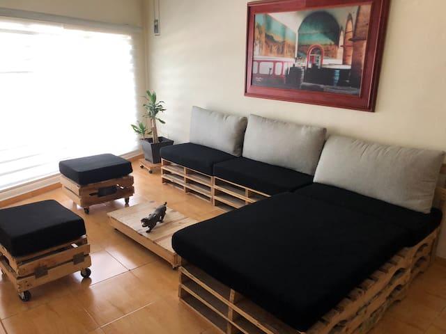 Suite Central/comodidad, ubicación y precio