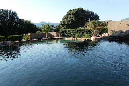 Reconstitution village Corse entre mer et montagne - Ajaccio - Service appartement