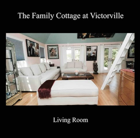 The Family Cottage at Victorville Sleeps 7-8