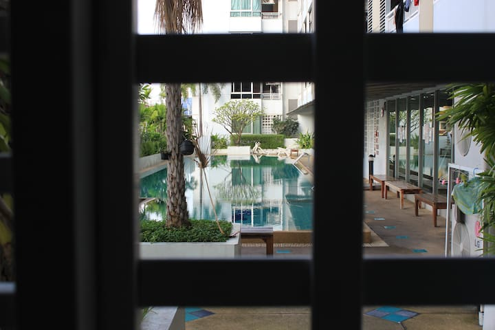 Beautiful nice home Center of Bangkok near Silom - Bangkok - Huoneisto