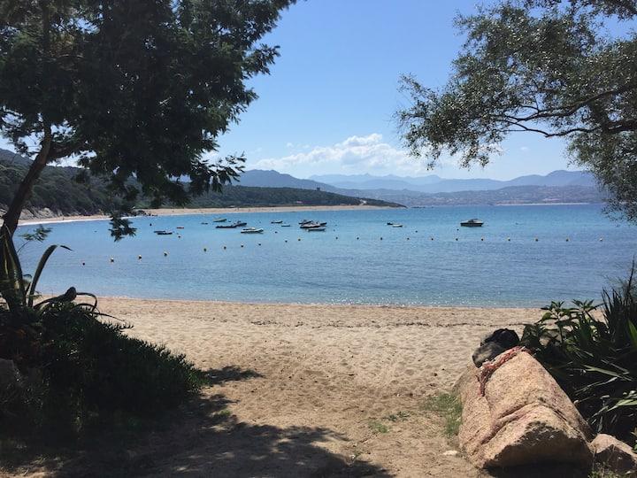 Chalet dans propriété bord de mer n°3