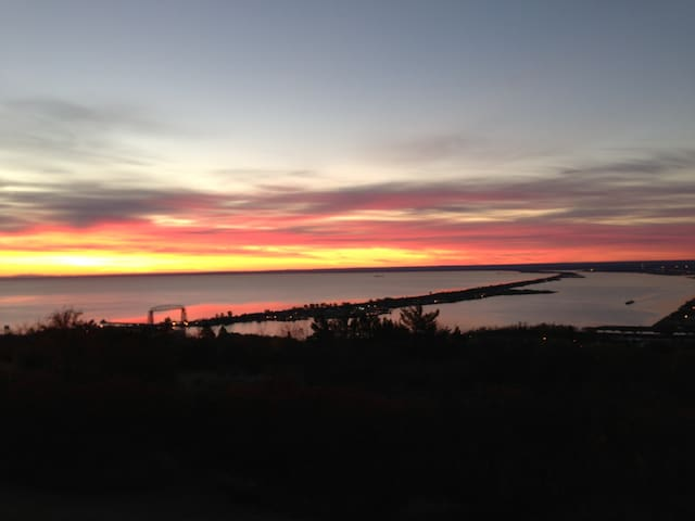View from deck-sunrise