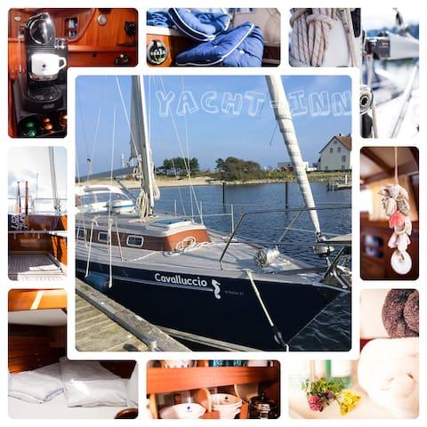 Yacht-Inn - Schlummern an Bord einer Segelyacht