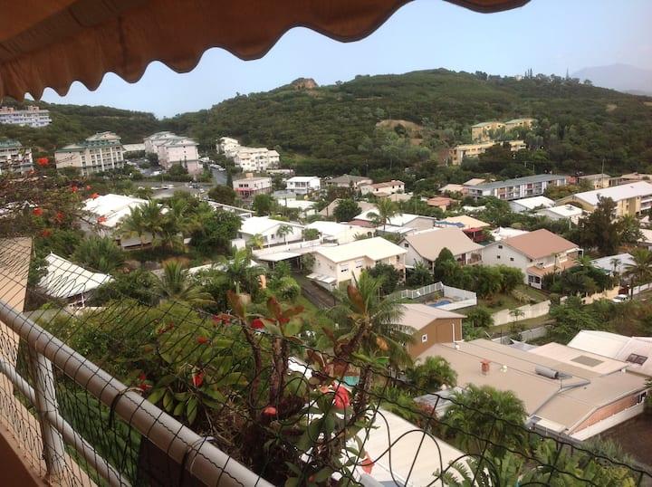 1 chambre dans T4 moderne terrasse belle vue