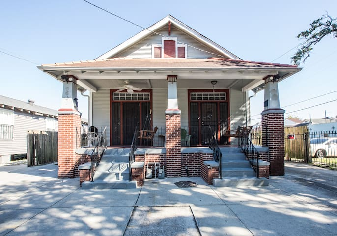 Sandy Smith's Historic Mid-City Home