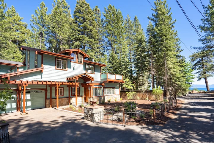 Tahoe City Lake view & Lakeside Multi-Family home