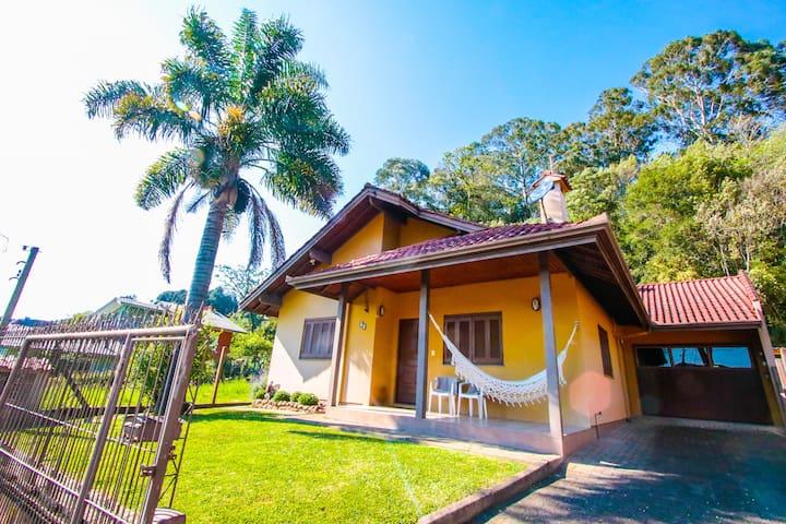 Morada da Gaia-Casa em Gramado para até 10 pessoas