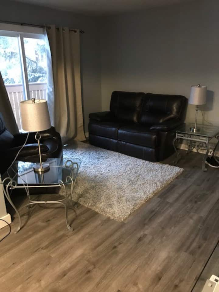 Month to Month/ Beautiful updated modern condo