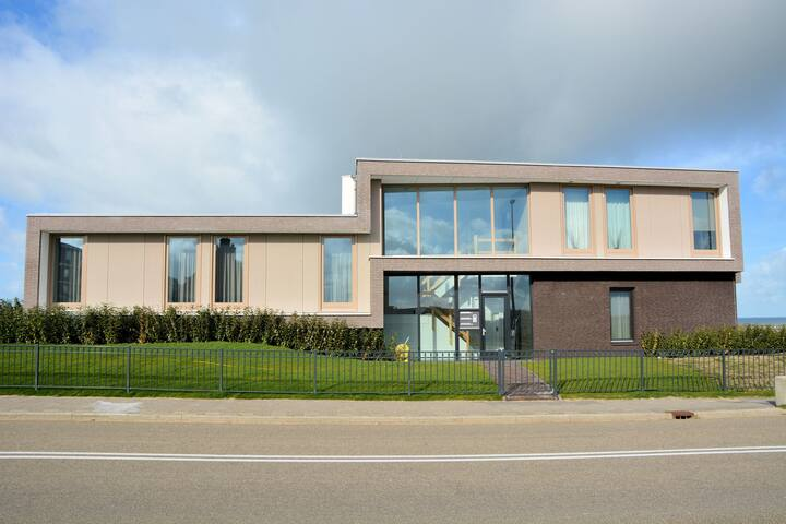 Luxury, modern apartment on the dunes and directly on the beach of Katwijk