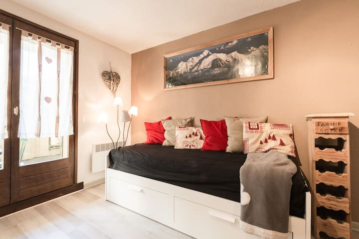Charming studio in the center of Chamonix