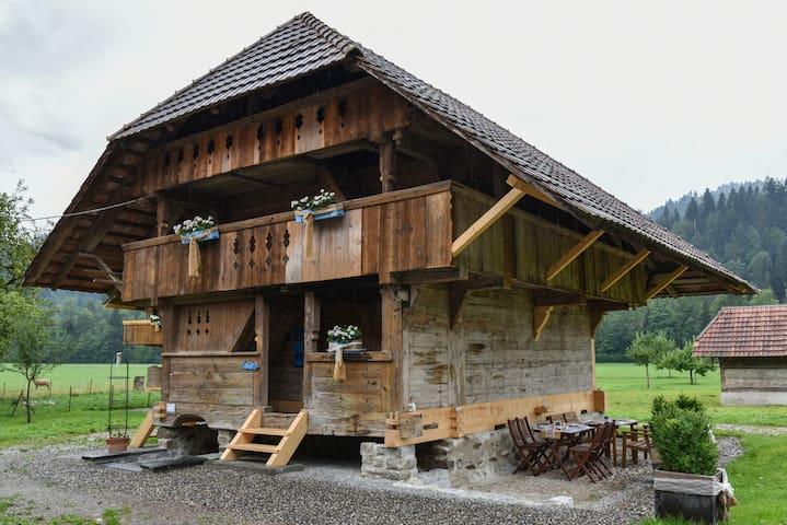 wielandleben BnB Massenlager - Eggiwil - Bed & Breakfast