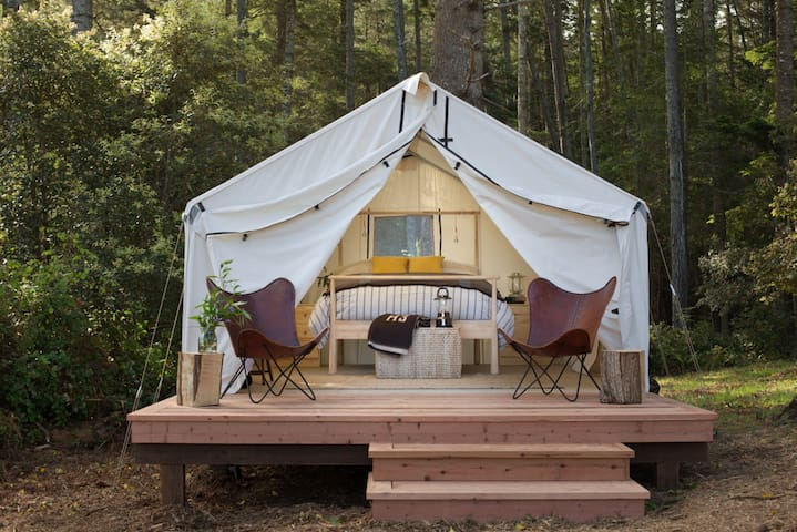 The New Mendocino Campground D - Mendocino - Tenda de campanya