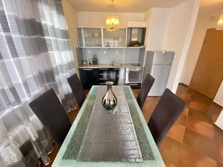 Two rooms appartment near Airport&Business Park
