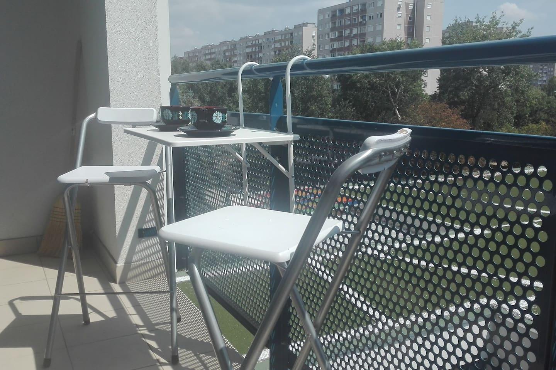 Fun in balcony