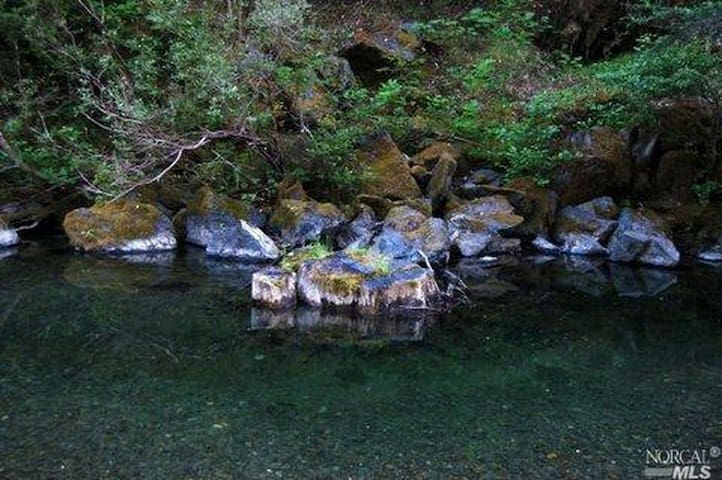 Private swimming hole