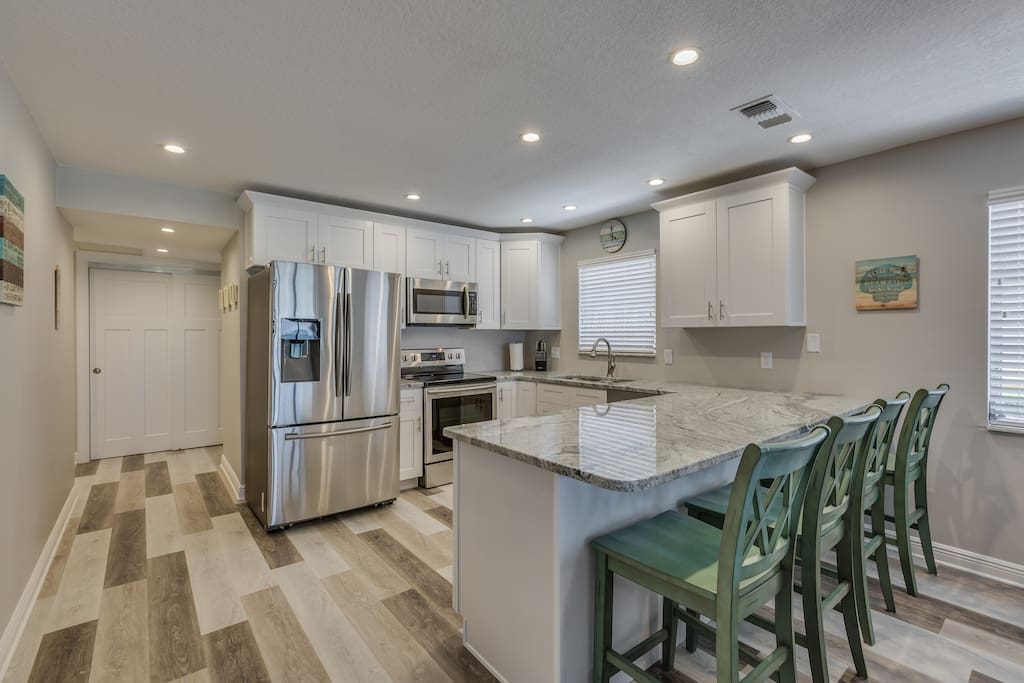 Beautiful kitchen for your use