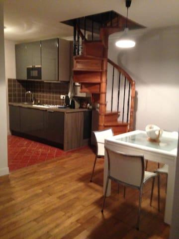 Joli Loft/Duplex 3 pcs 55m2 Chantilly centre - Chantilly - Appartement